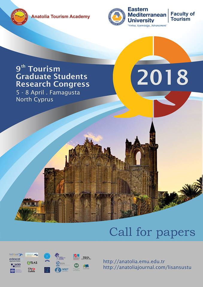 9th Tourism Graduate Students Research Congress